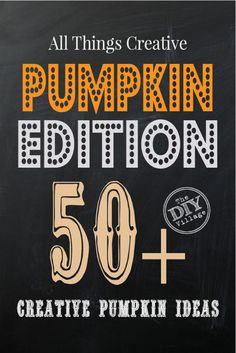 Over 50 ideas - All Things Creative Pumpkins and gourds