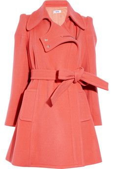 Sonia by Sonia Rykiel  Wool and cashmere-blend coat  $800