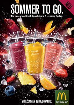Neu: Iced Fruit Smoothies bei Mc Donald's - HYYPERLIC