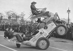 American legion wheelie car