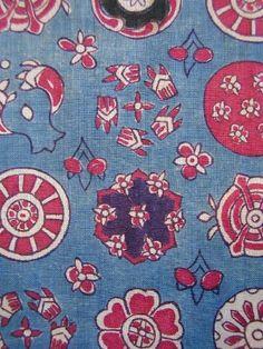 INDIAN SARASA ・ 手描き印度更紗 ・ 日本古渡り