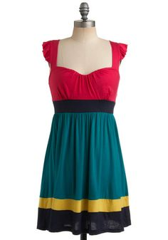 Pretty in Piñata Dress, #ModCloth