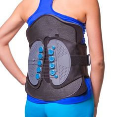 Comprehensive LSO Spine Stabilization Brace for Mid & Lower Back