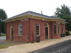 Felton train depot