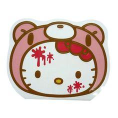 gloomy bear x hello kitty note pad