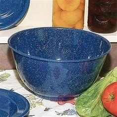 Royal Blue Enamelware