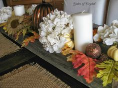Fall Centerpiece - Gates of Crystal