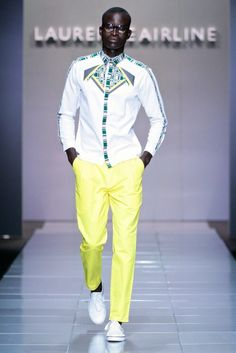 24 |Laurence Airline (Mercedes-Benz Fashion Week Africa) Photos by Simon Deiner