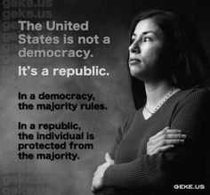 Difference between a Democracy and a Republic