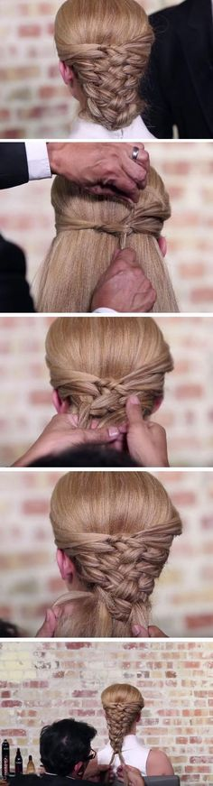 Woven Look | 18 DIY Game of Thrones Inspired Hairstyles that will turn you into a medieval princess!