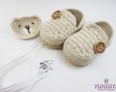 Bebé negro zapatos mocasines zapatillas de niño por Yunisiya