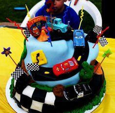 Cars Theme - Cake