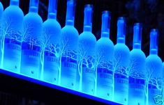 2 ' Ft Led Lighted Liquor Bottle Shelf ,liquor Shelve .bar Bottle Display