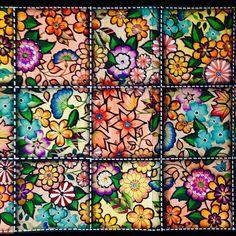 @Regrann from @ginapafiadache -  A contracapa do livro Jardim Secreto ficou assim e minha inspiração foi o Patchwork, as lindas colchas e panôs que artistas preparam divinamente.  prazeremcolorir @milliemarottabooks #Pafiadache #OceanoPerdido  #oceanoperdidotop #colorindolivrostop #jardimsecretotop #nossaflorestaencantada #forum_da_criatividade #reinoanimaltop #LostOcean #boracolorirtop #jardimsecretolove #inspiraçãojardimsecreto #terapianojardim #coloring_secrets #nossaflorestaencantada ...