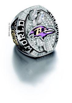 2012 Baltimore Ravens Super Bowl Championship Ring