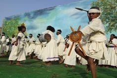 Dancing Tigrinya children - Festival Eritrea 2006 - Expo Asmara Eritrea.