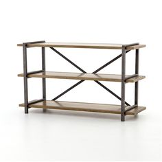 Shane Console Table from The Hughes Annex Collection from Four Hands features an array of occasional and dining selections in a stripped down and raw finish.The Khazana is a furniture store located in Austin, Texas.