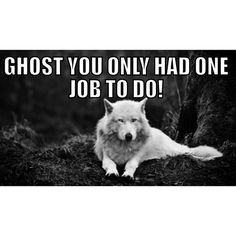 Where is Ghost?! #ghost #GoTSeason5 #gameofthrones #hbo