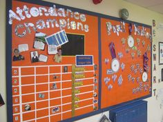 attendance awards school hall displays - Google Search Attendance Display, Attendance Incentives, Attendance Board, School Attendance, School Counseling, Attendance Ideas, School Entrance, School Hall, After School