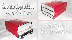 Dreams of Love / Organizador de módulos | Reciclando Cajas de Galletas