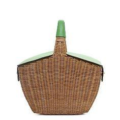 I'm going on a #vespa picnic, and I'm bringing... this adorable picnic basket. #katespade #ridecolorfully