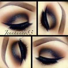 Love it! oh an overly accentuated crease! I am obsessed with crease cuts and how the makeup looks right now. I used to be about the various types of smokey eye but now I am about crease cuts LOL