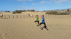 Janka a Danka Velďákové - sustredenie na Kanarskych ostrovoch Jumper, Running, Outdoor, Outdoors, Keep Running, Jumpers, Why I Run, Outdoor Games, The Great Outdoors