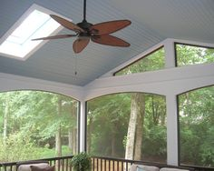 Screened Porch - traditional - porch - charlotte - Grainda Builders, Inc.