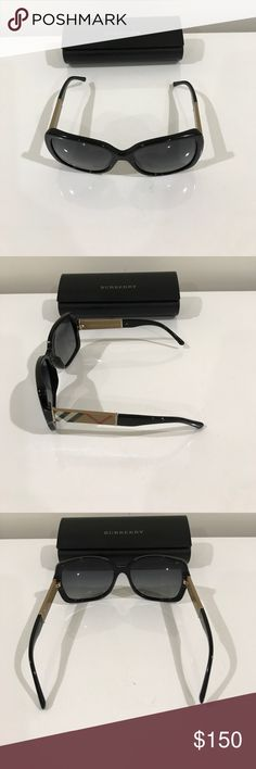 Burberry Sunglasses Berberry sunglasses in excellent condition -comes with case and cloth. no visible scratches or marks. Burberry Accessories Glasses
