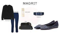 #Magrit Te presentamos ideas casual outfit para combinar con nuestro modelo PILAR en azules y negros. #MickaelKors#IsabelMarant#Prada#Tiffany&Co LINK WEB: http://www.magrit.es/es-ES/pilar-azul-473