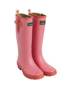 Joules' wellies... I have that in green and blue!
