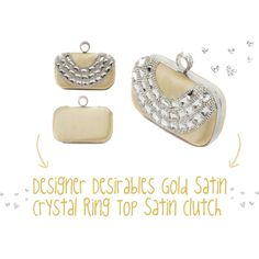 """""""Cute Crystal Clutch!"""" by designerdesirables on Polyvore"""