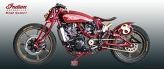 Indian Bike RSD Scout #harleydavidsoncaferacer