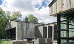 Salvaged wood clads handsome mountain cabin in Vermont   Inhabitat - Green Design, Innovation, Architecture, Green Building