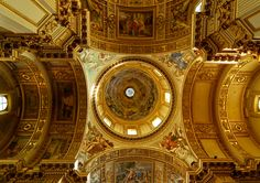 Paint the ceiling like this. No more asbestos popcorn!!