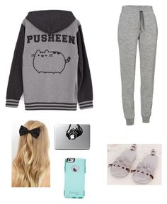 Idk by ya-girl-tori on Polyvore featuring polyvore, fashion, style, Pusheen, Icebreaker, New Look, OtterBox and clothing