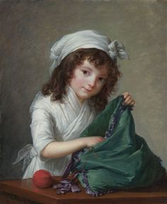 Elisabeth Louise Vigée Le Brun  Mademoiselle Brongniart  Oil on canvas  Inventory number NG3963