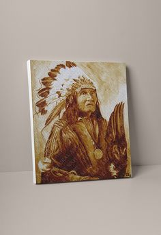 Large Canvas Prints, D1, American Indians, Store, Natural, Artist, Painting, Larger, Artists