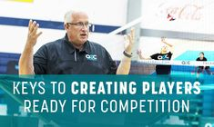 Happy Labor Day! After the long weekend, here is a great video to keep your players ready for competition. Russ Rose talks about the importance of physical preparation and mental preparation.