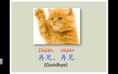 cancion pegadiza adios, hasta luego, estoy cansada... Zaijian