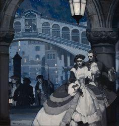 MEAD SCHAEFFER (American, 1898-1980) Forbidden Lover, July 1932 Oil on canvas 34 x 32 in.
