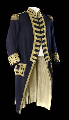 Nelsonu0027s Trafalgar coat. Vice-admiralu0027s undress coat worn by Nelson (1758-1805) at the Battle of Trafalgar. There is a bullet hole on the left shouu2026 : admiral jacket costume  - Germanpascual.Com
