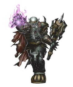 Male Duergar Antipaladin - Pathfinder PFRPG DND D&D 3.5 5th ed d20 fantasy
