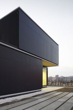 *architecture, design, facades, textures, black* - Homeless Shelter in Pamplona by Javier Larraz Arquitectos