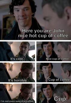 Combines my love of Sherlock and Cabin Pressure!