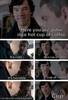 Combines my love of Sherlock and Cabin Pressure!