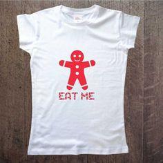 eat-me Koszulka damska z nadrukiem Gingerbread Idealna na prezent www.ddshirt.pl