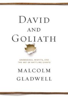 First half of the book was extremely good; inverted-U curve, relative deprivation and thoughts regarding to disruptive innovations.  David and Goliath: Underdogs, Misfits, and the Art of Battling Giants: Malcolm Gladwell