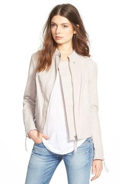 Free People Free People Faux Leather Jacket available at #Nordstrom