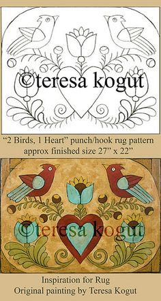 2 Birds, 1 Heart by Teresa Kogut